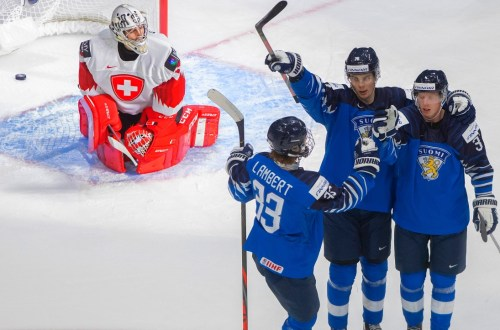 World Juniors Finland Defeats Switzerland With Ease 4 1